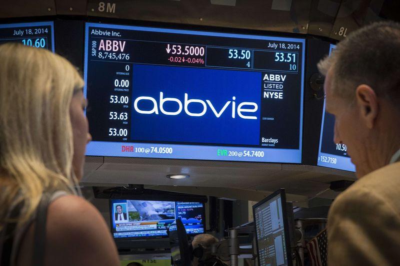 AbbVie Falls 3%