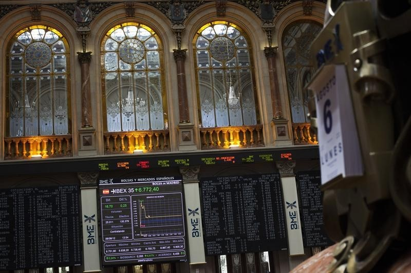 Spain stocks lower at close of trade; IBEX 35 down 1.38%