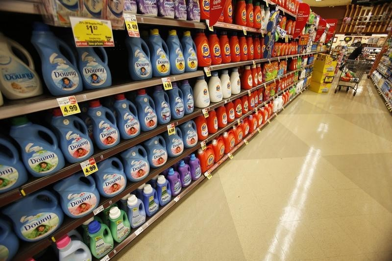 Shares in Procter & Gamble remain flat in spite of 3% dividend