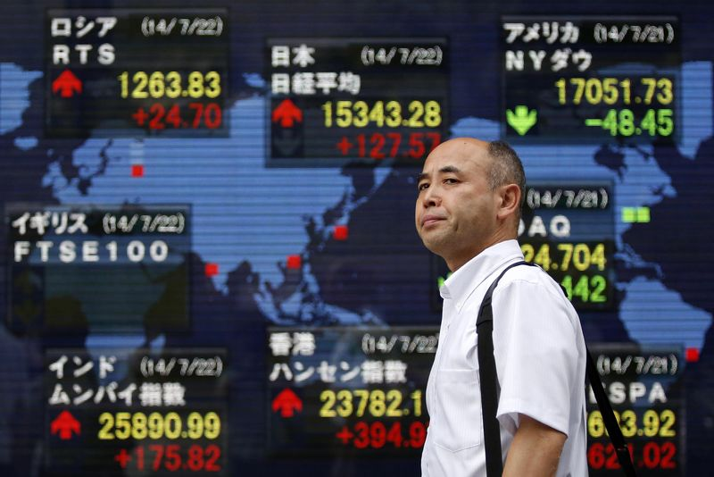 Asian, U.S. Shares Up, COVID-19 Concerns Start to Ease