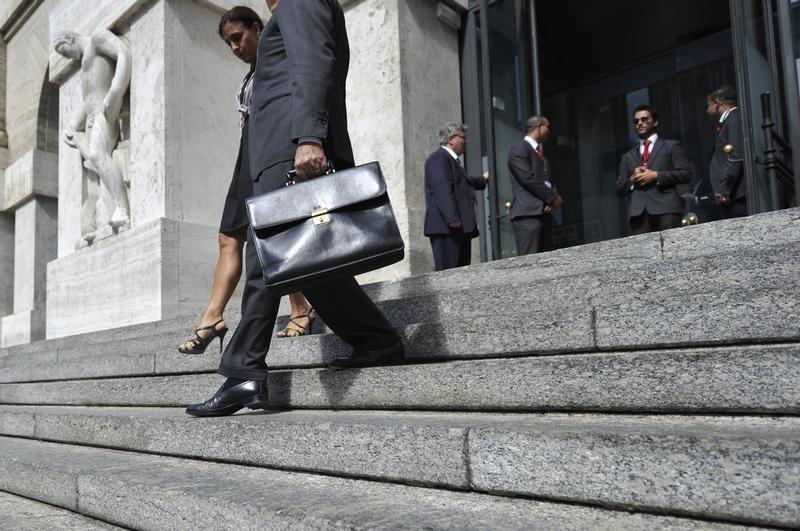 مؤشرات الأسهم في إيطاليا هبطت عند نهاية جلسة اليوم؛ Investing.com إيطاليا 40 تراجع نحو 0.80%