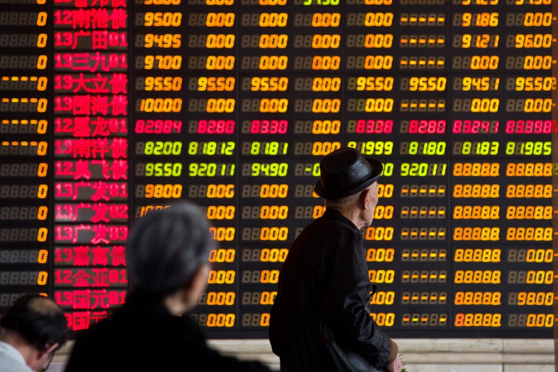China shares lower at close of trade; Shanghai Composite down 0.65%