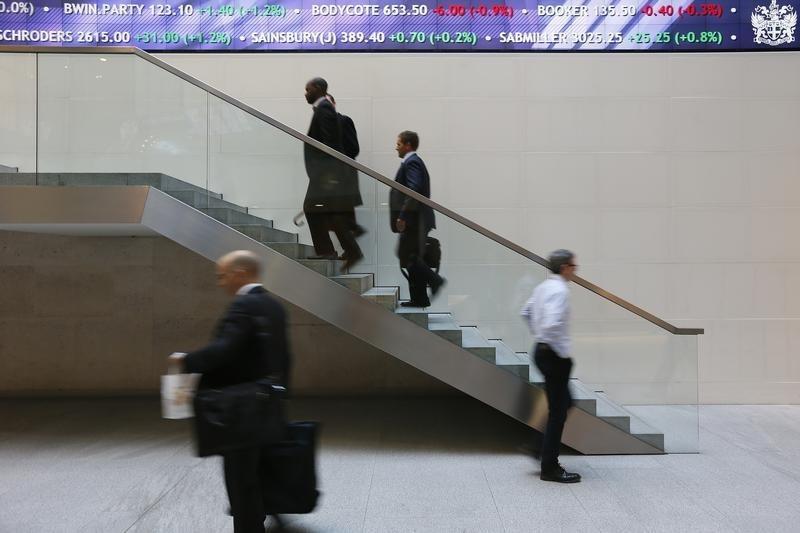 مؤشرات الأسهم في المملكة المتحدة هبطت عند نهاية جلسة اليوم؛ Investing.com بريطانيا 100 تراجع نحو 1.98%