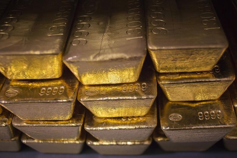 Os Futuros de Ouro caíram durante a sessão asiática