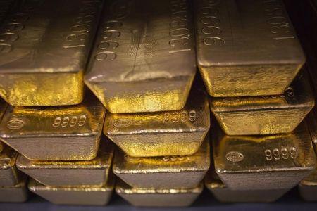 العقود الآجلة للذهب ارتفعت خلال دورة الولايات المتحدة