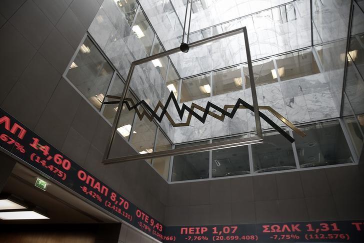 מדדי המניות ביוון ירדו בנעילת המסחר; מדד Athens General Composite השיל 1.13%