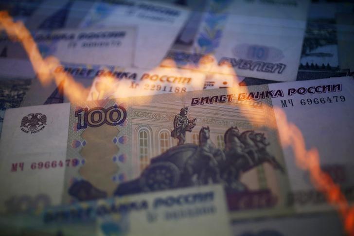 El rublo sube un 0,13 % ante el dólar y un 0,54 % frente al euro