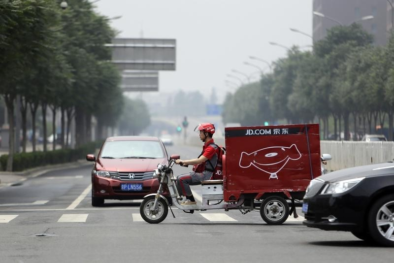 JD Logistics Shares Soar in  $3.2 Billion Hong Kong Debut