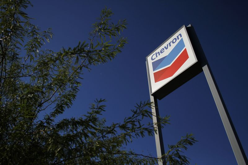 Chevron Stock Rises 3%