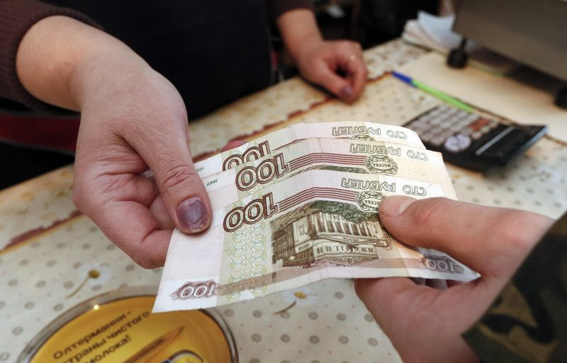 Ruble Dives the Most Since the Oil Crash in 2015