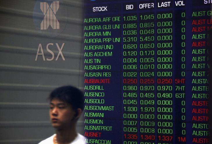 Australia stocks lower at close of trade; S&P/ASX 200 down 0.03%