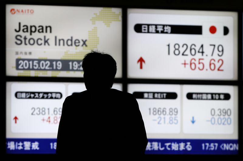 Japan stocks lower at close of trade; Nikkei 225 down 0.26%