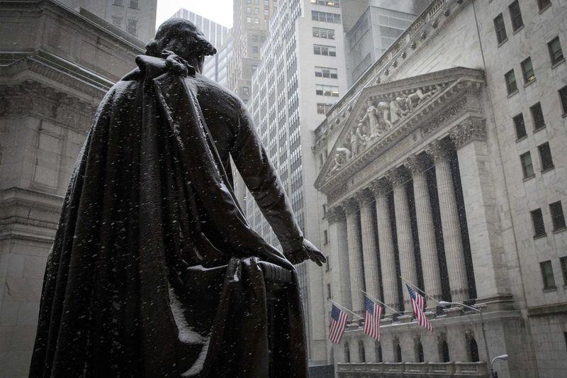 Рынок акций  США закрылся падением, Dow Jones снизился на 1,86%