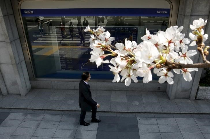Japan stocks higher at close of trade; Nikkei 225 up 0.07%