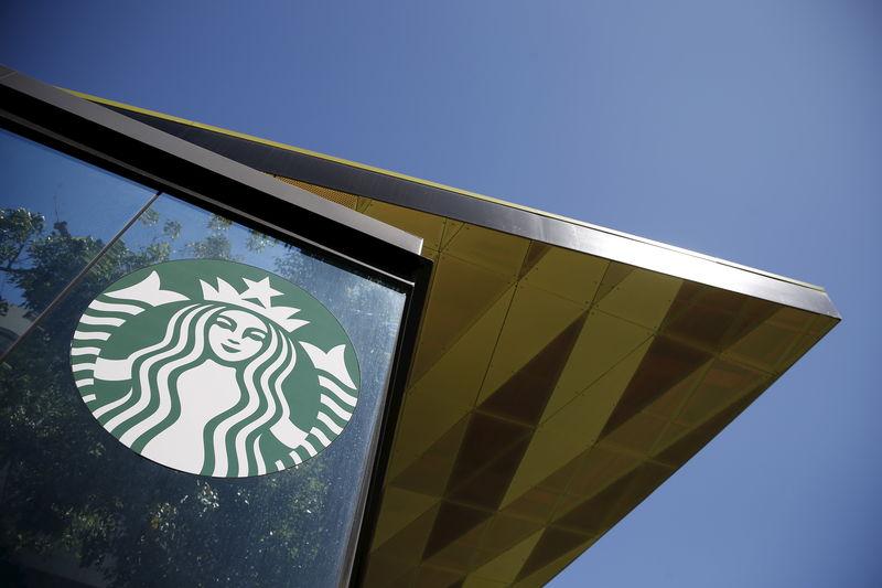 Alphabet, Boeing Rise Premarket; Starbucks, Spotify Fall