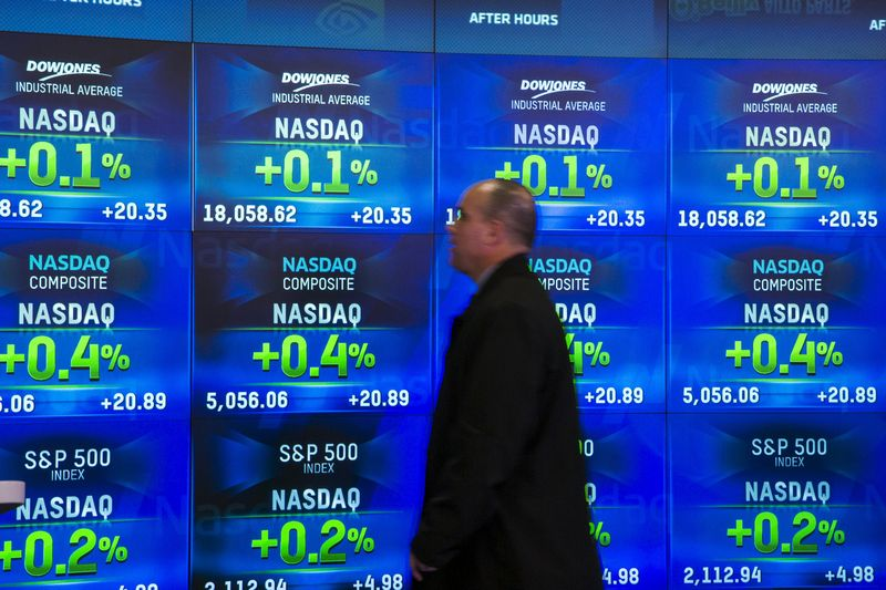 U.S. stocks higher at close of trade; Dow Jones Industrial Average up 0.90%
