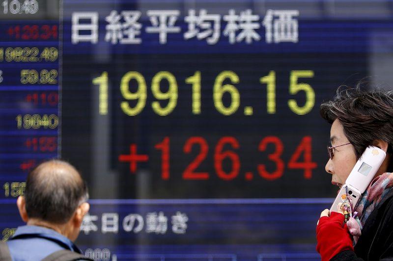 Рынок акций  Японии закрылся ростом, Nikkei 225 прибавил 1,29%