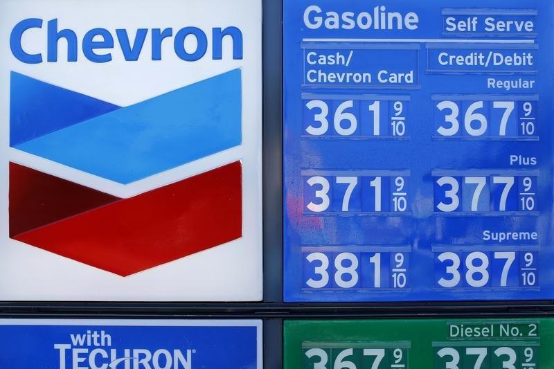 Chevron Stock Falls 3%