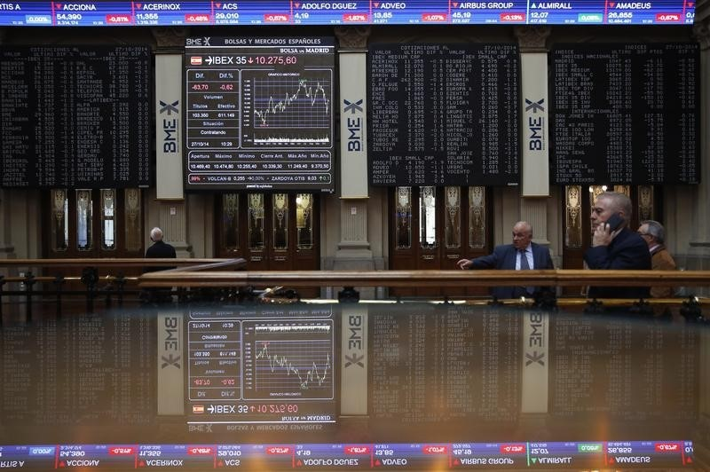 Spain stocks higher at close of trade; IBEX 35 up 0.38%