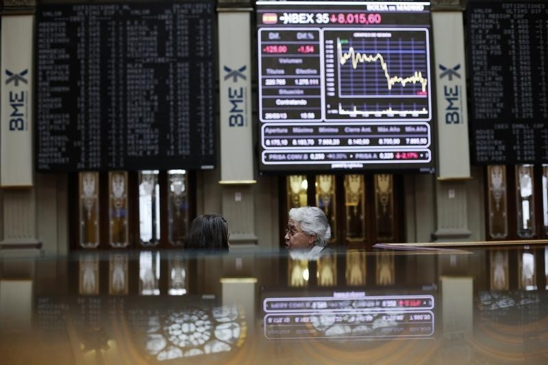 Spain stocks lower at close of trade; IBEX 35 down 0.04%