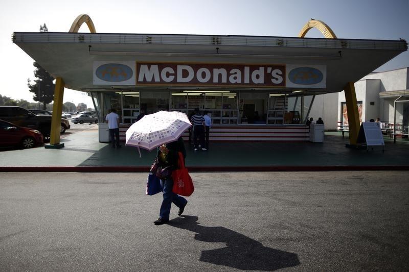 McDonald's Weaker On  Covid Worries Despite Robust Growth