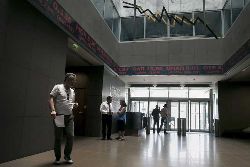 مؤشرات الأسهم في اليونان هبطت عند نهاية جلسة اليوم؛ Athens General Composite تراجع نحو 0.09%