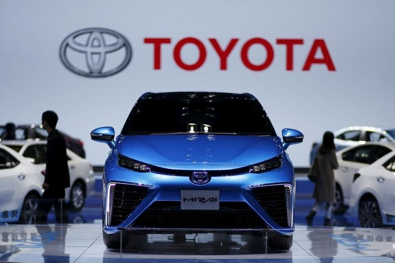 Toyota tem forte alta no lucro no 1º trimestre fiscal, acima das expectativas