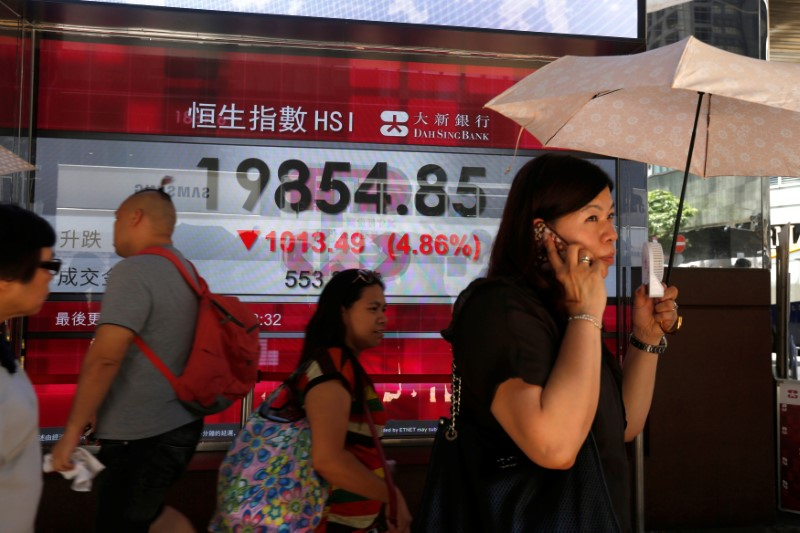 MORGONRAPPORT-Press på börser efter virusoro och svaga Kina-data