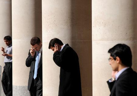 مؤشرات الأسهم في المملكة المتحدة هبطت عند نهاية جلسة اليوم