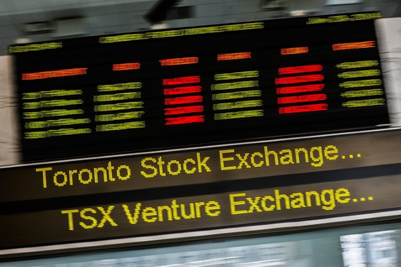 Canadá - Ações fecharam o pregão em queda e o Índice S&P/TSX recuou 0,25%