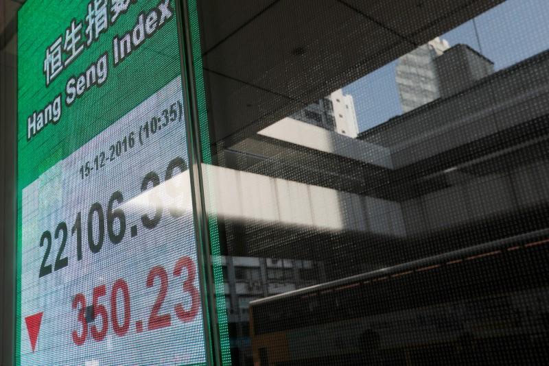 El Hang Seng se desploma un 3,3% arrastrado por batacazo de las inmobiliarias
