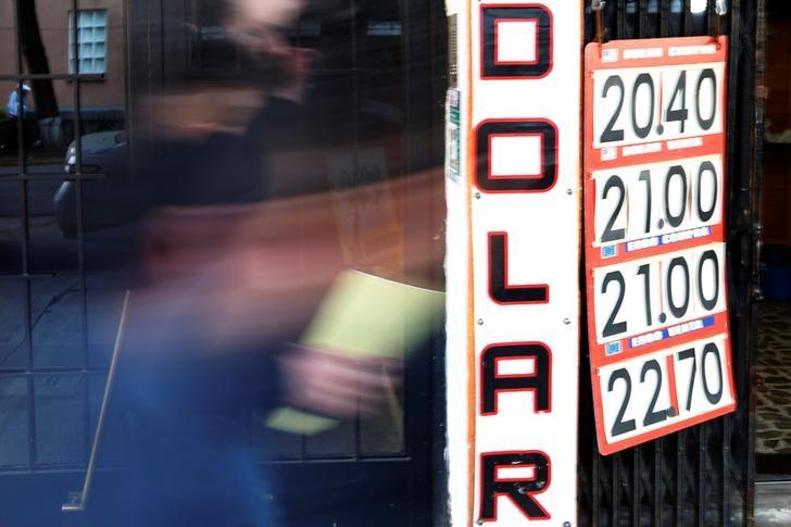 USD/MXN: Sube el tipo de cambio; la moneda en 20.19 pesos por dólar