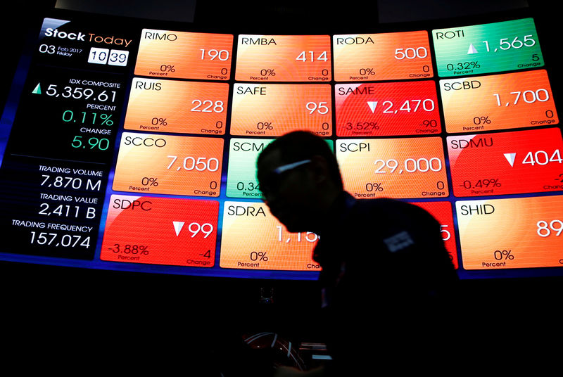 Indonesia stocks higher at close of trade; IDX Composite Index up 0.96%