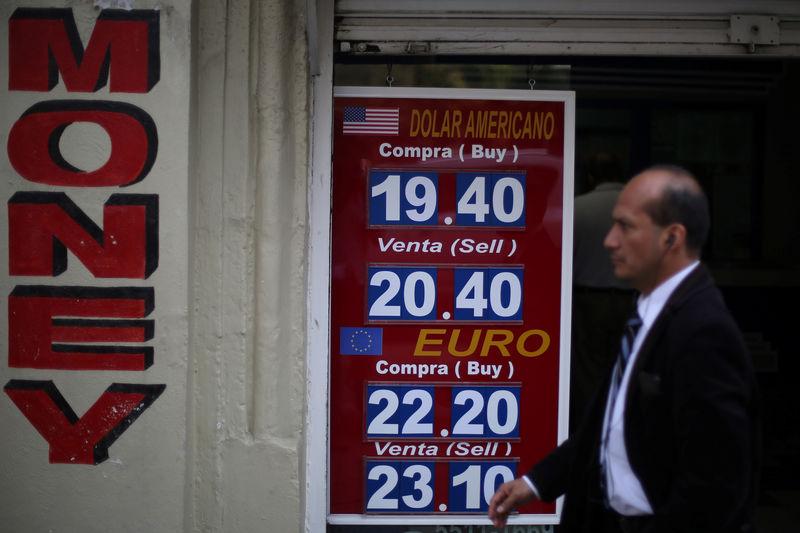 USD/MXN: Moneda se deprecia; tipo de cambio se acercó a los 20 pesos por dólar