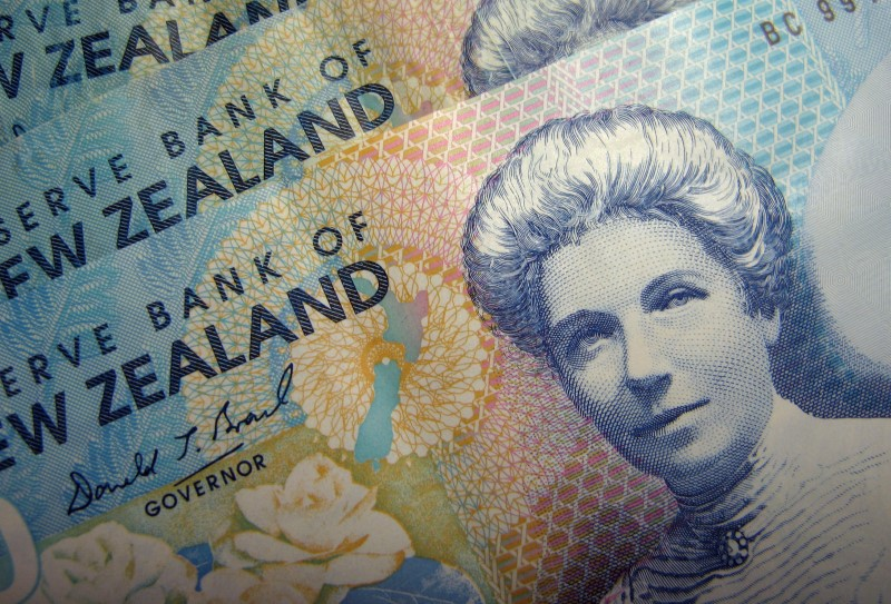 Forex - New Zealand Dollar Down on Weak ANZ Business Confidence Indicator