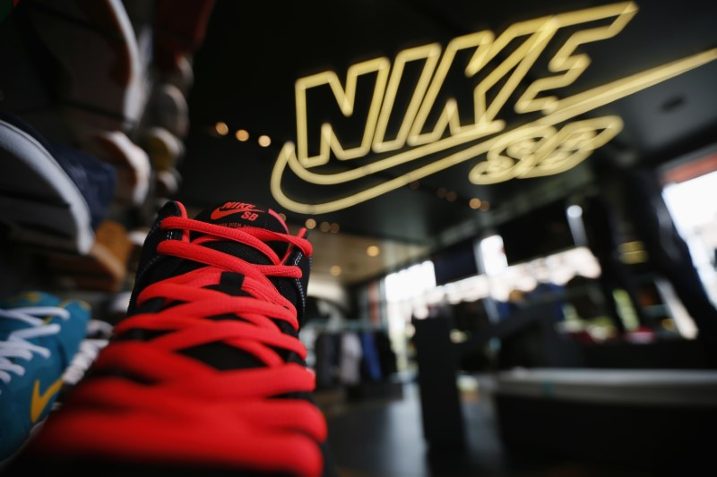 Nike Slips as Supply Issues Force Cut in Guidance, Hurt Q1 Growth