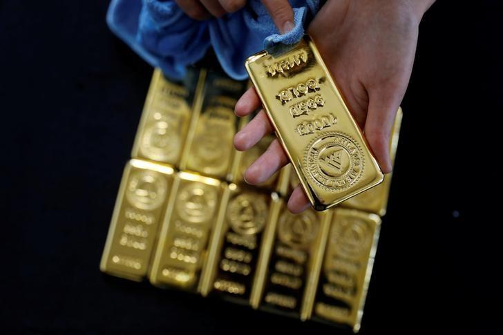 Los futuros del oro subieron durante la sesión asiática