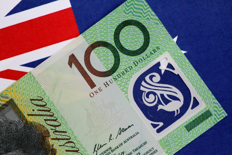 Australian Dollar Trades Above 8-Month Lows
