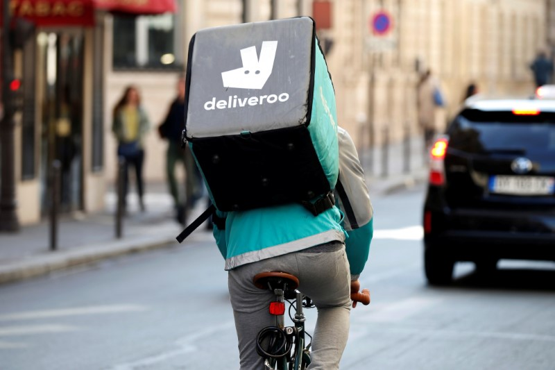 European Stocks Largely Lower; Deliveroo Disappoints After IPO
