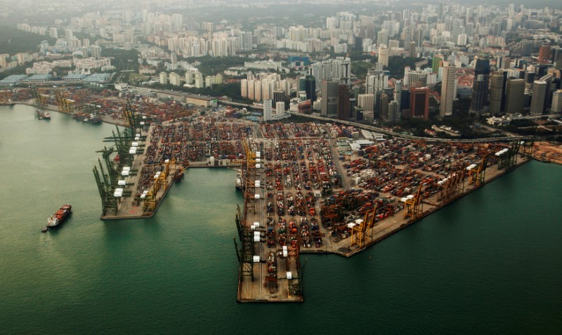 Singapore's Grip on $30 Billion Oil Market Challenged by China