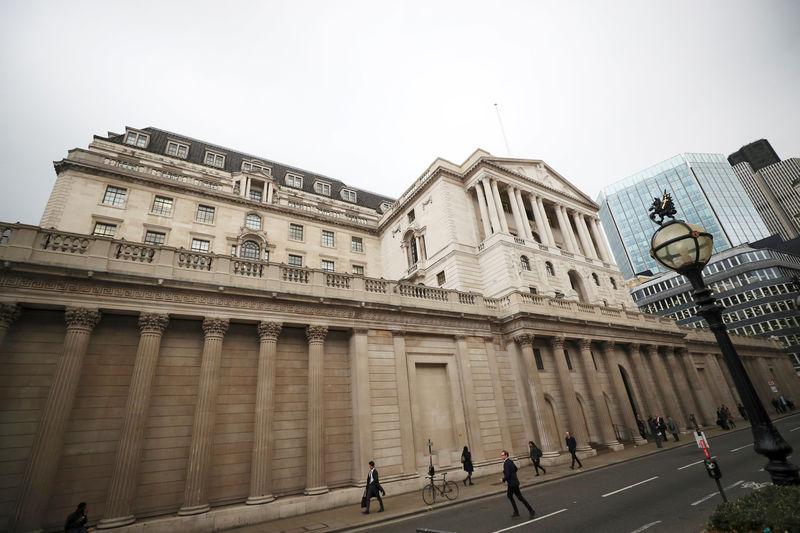تقرير بنك إنجلترا يظهر ارتفاع توقعات التضخم داخل بريطانيا
