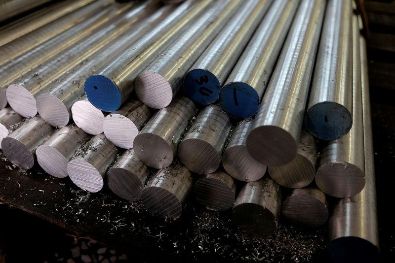 Şanghay'da alüminyum, tedarik endişeleri nedeniyle arttı