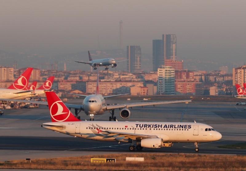 Avrupa'da geçen hafta en çok uçuş yapan 2. hava yolu şirketi THY oldu