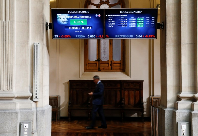La Bolsa española pierde fuerza y se aleja de los 8.800 puntos