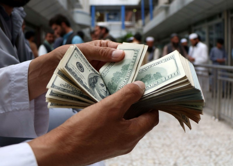 Dollar Up, but Near One-Week Low Over Receding COVID-19 Fears