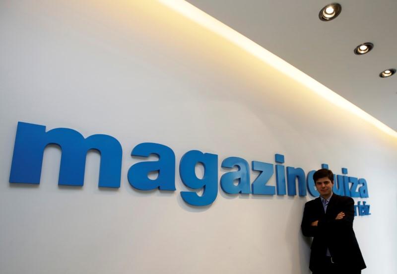 Após balanço trimestral, ações do Magazine Luiza lideram perdas do Ibovespa