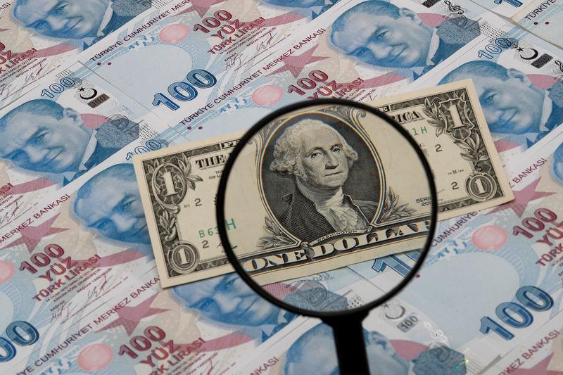 Dolar trawi dane o CPI. Lira osiąga nowe minima