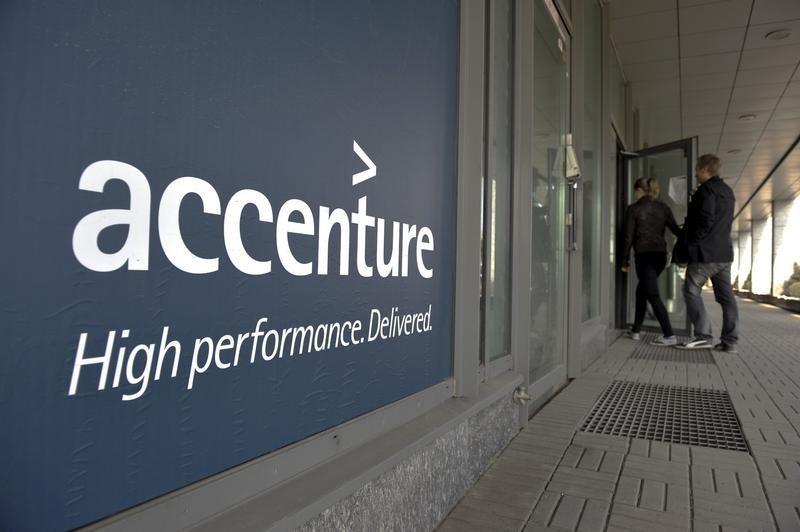 Accenture winst en omzet hoger dan voorspeld