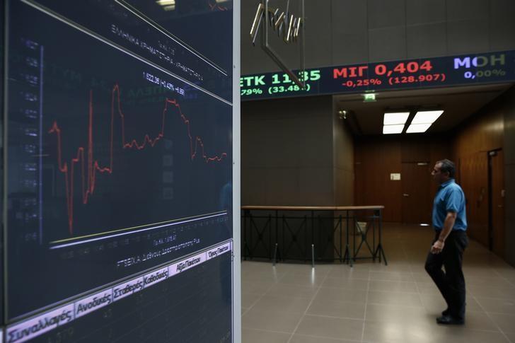 מדדי המניות ביוון עלו בנעילת המסחר; מדד Athens General Composite הוסיף 0.07%