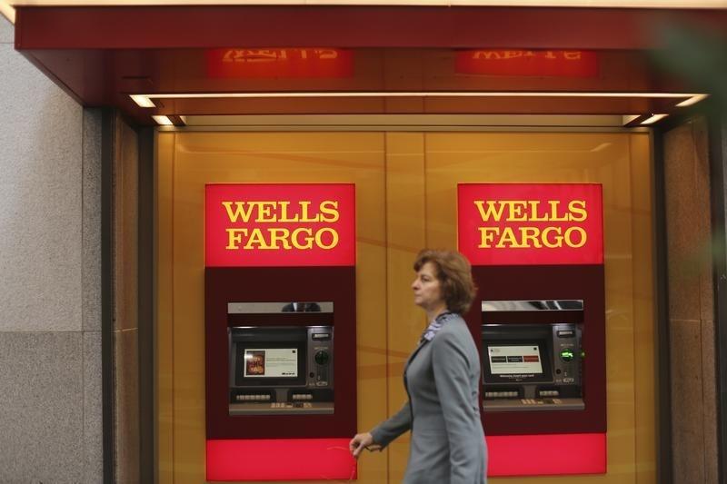 Ações do Wells Fargo caem após resultados do 4º tri